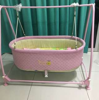 Baby Cradle (katil buaian baby)