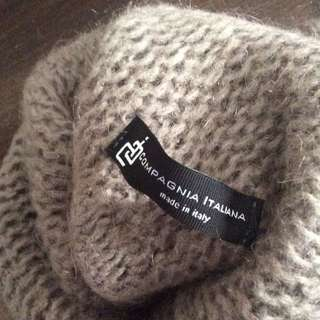 3 x Italian wool (ponchos and cardigan)