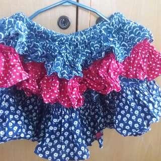 Peppermint skirt & tutu skirt(bundle)