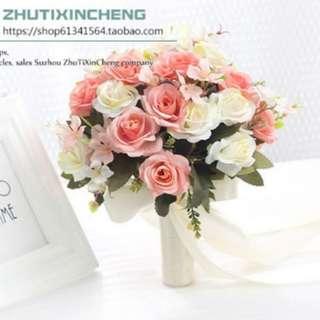 Bridal Bouquet (fake flower)
