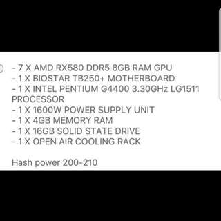GPU Mining Rig Crypto