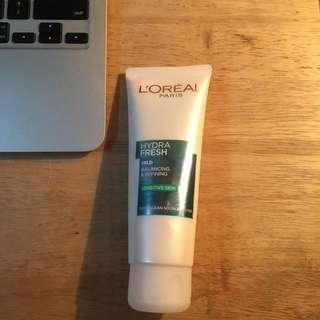 REPRICED!!! L'oreal Hydra Fresh Mild foam for Sensitive skin