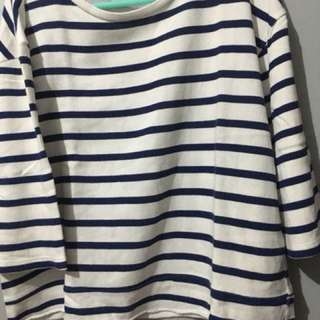 Zara Top Basic Stripes