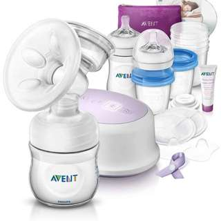 Philips Avent Electric Breast Pump (Breastfeeding Support Set)
