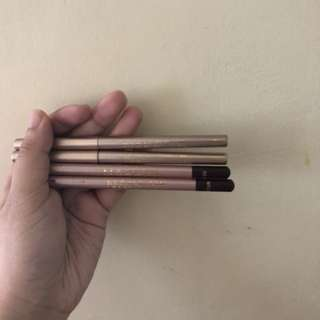 Naked eyebrow pencil