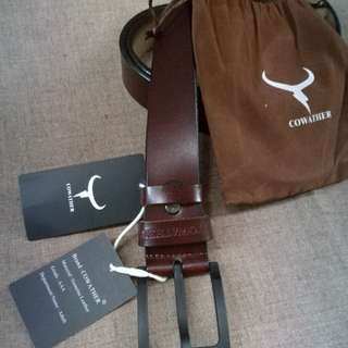 Coweather Leather Belt