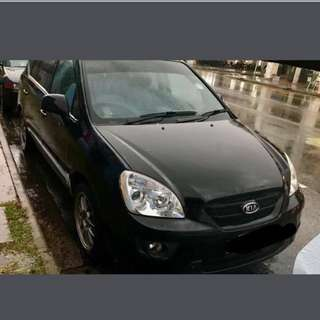 For Rent - Kia Carens 2.0A