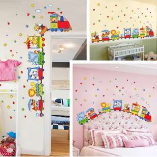 DIY Baby children's room boy bedroom cartoon construction car car wall sticker car wall car stickers/Home Decor