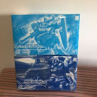 HG 1/144 Jesta Clear Ver. and Jesta Cannon Clear Ver.