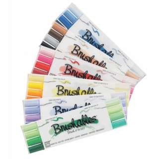 ZIG Brushables for Calligraphy