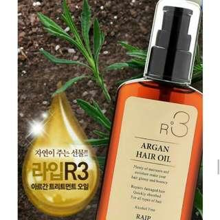 RAIP R3 Organic Argan Hair Oil