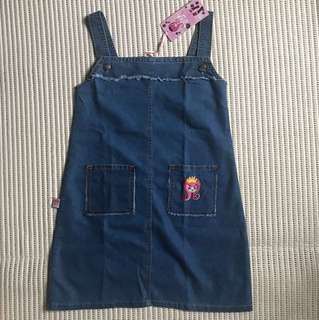 Denim Dress Rodeo anak