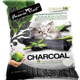Fussie Cat Paper Litter 7L - $11.00 / 10 For $100.00 with free delivery