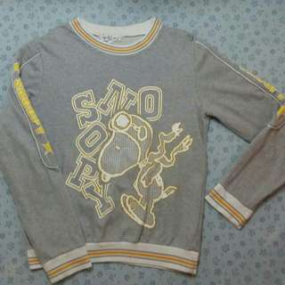 Snoopy Ringer Sweater