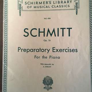 Preparatory Exercises for the Piano