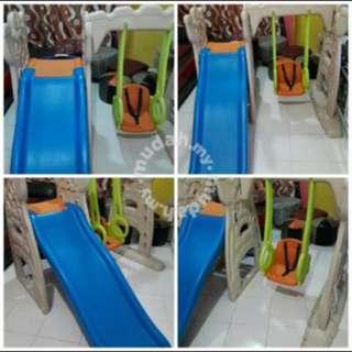 Playground slide n swing grow n up
