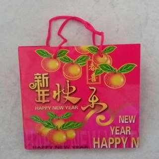 CNY Orange bag FOC if you purchase any item above $4