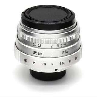 Fujian 35mm 1.7 lense
