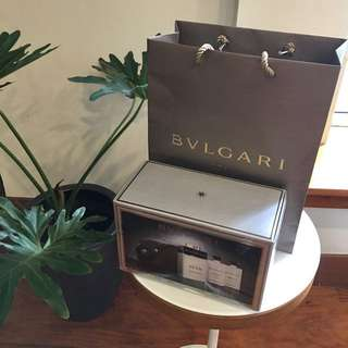 New Bulgari Man Extreme 3 Piece Set with Pouch