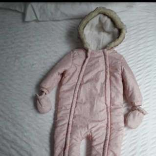 Baby Winter Jacket/ Snowsuit with hood