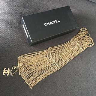 Chanel Gold Multi-Strand Chain Link Belt