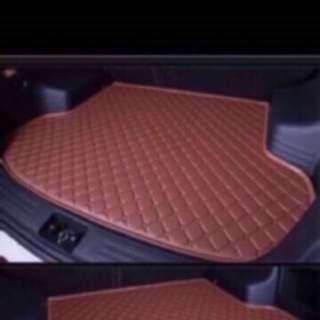 Customized Luxury Car Boot Mat