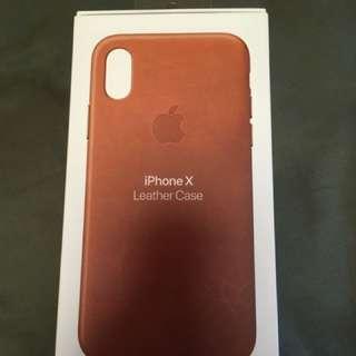 iPhone x leather Case 全新