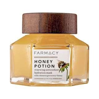 Farmacy Honey Potion Renewing Antioxidant Hydration Mask Brand New