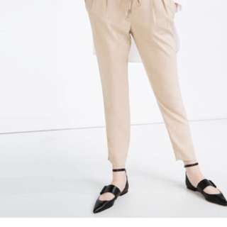 ZARA Beige Trousers