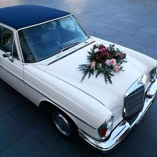 Vintage Mercedes Wedding & Events Unique Car Rental