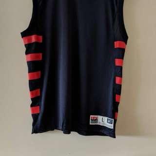 Vintage Reebok basketball USA singlet