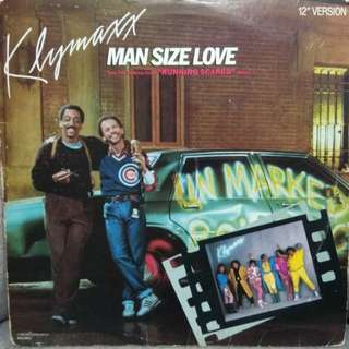 "arth12 KLYMAXX Man Size Love USA Press 4-Track Maxi 12"" Inch Single Vinyl Record"