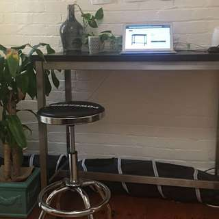 IKEA utby bar table