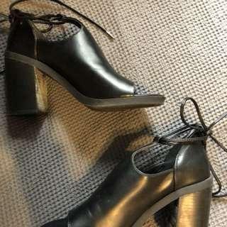 Pulp peep toe boots