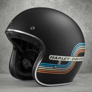 Harley-Davidson Retro Tank Stripe Bell 500 Helmet - Size XL