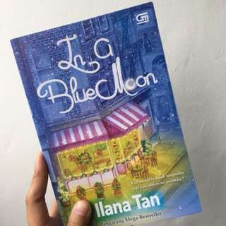 Novel: In a Blue Moon