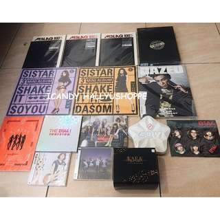 KPOP ITEMS FOR SALE (SEE DESCRIPTION FOR PRICE LIST)