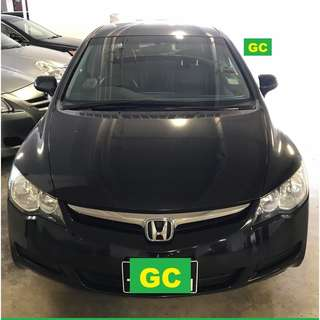 Honda Civic CHEAPEST RENT AVAILABLE FOR Grab/Uber