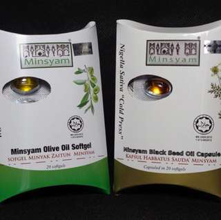 Minsyam olive oli and habbatus sauda