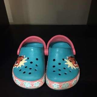 Crocs Moana shoes with light