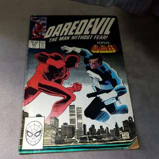 Marvel daredevil the man without fear!