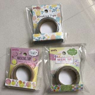 Washi tape from Japan (Amifa)
