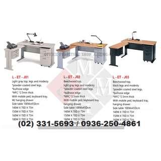 L Shape ( Executive Desk ) CD Series-Office Furniture