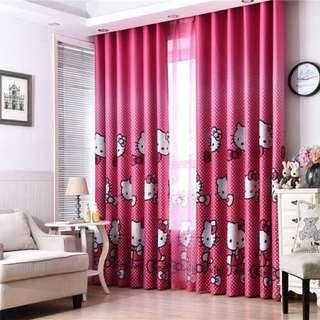 Hello Kitty Children Kids Curtains