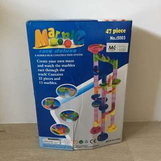 Preloved marble race toy
