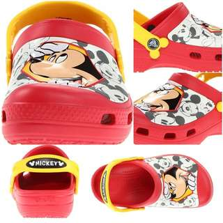 CROCS - glow in the dark - MICKEY MOUSE CLOG