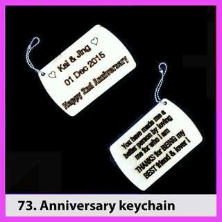 Valentine's Keychain