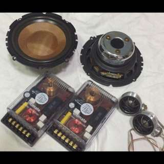DLS Components Speaker. Car Radio And Audio System