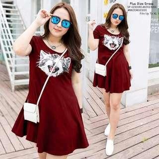 Plussize dress fits upto XL