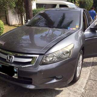 2008 Honda Accord Top Of The Line 3.0